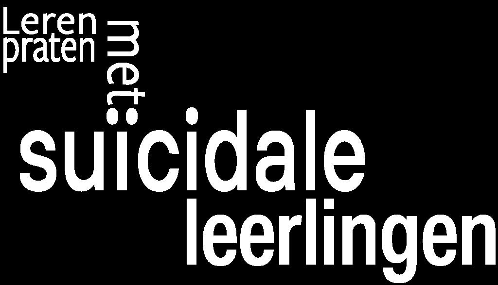 Leren praten met suïcidale leerlingen